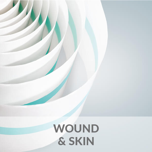 Wound and skin dressings