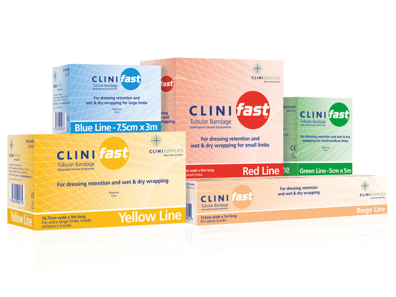 Clinifast tubular bandages